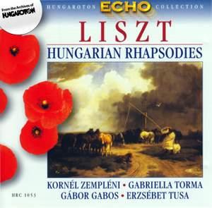 Liszt: Hungarian Rhapsodies, S244/R106 (Excerpts)