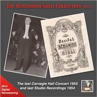 The Beniamino Gigli Collection, Vol. 6: The Last Carnegie Hall Concert & Last Studio Recordings (2014 Digital Remaster) [Live]