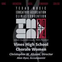2014 Texas Music Educators Association (TMEA): Vines High School Chorale Women [Live]
