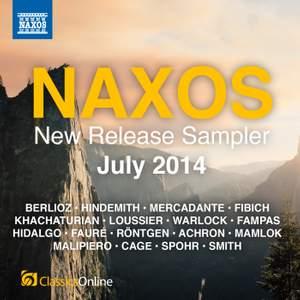Naxos July 2014 New Release Sampler