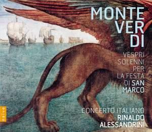 Monteverdi: Vespri solenni per la festa di San Marco Product Image