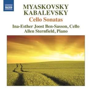 Myaskovsky & Kabalevsky: Cello Sonatas