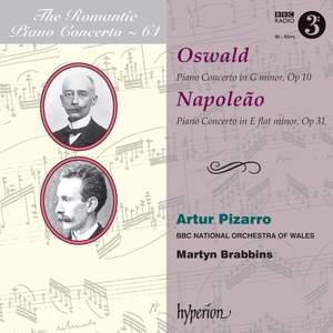 The Romantic Piano Concerto 64 - Oswald & Napoleão dos Santos Product Image