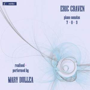 Eric Craven: Piano Sonatas Nos. 7-9 Product Image