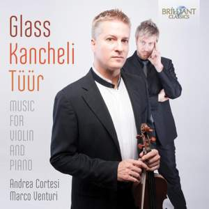 Glass; Kancheli & Tüür: Music for Violin and Piano Product Image