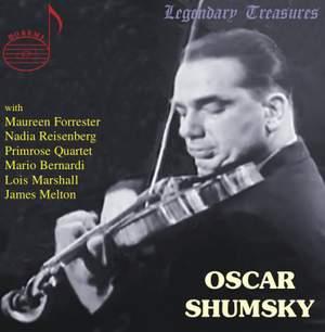 Oscar Shumsky: Broadcasts & Live Performances 1940-1982