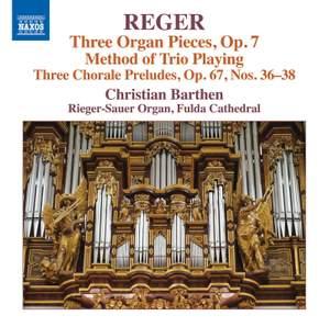 Reger - Organ Works Volume 16