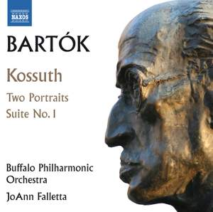 Bartók: Kossuth, 2 Portraits & Orchestral Suite No. 1 Product Image