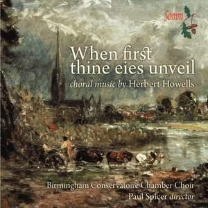 When first thine eies unveil