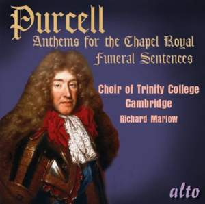 Purcell: Anthems for the Chapel Royal