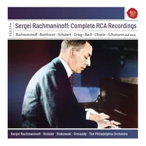 Sergei Rachmaninov: Complete RCA Recordings