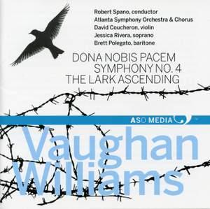 Vaughan Williams: Dona nobis pacem, Symphony No. 4 & The Lark Ascending