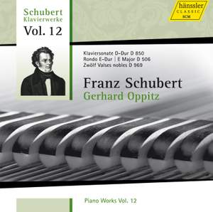 Schubert - Piano Works Volume 12