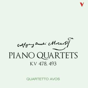 Mozart: Piano Quartets K478 & K493