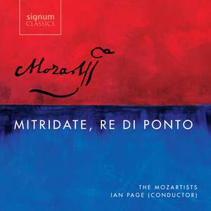 Mozart: Mitridate, rè di Ponto, K87 Product Image