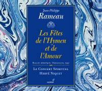 Rameau: Les Fêtes de l'Hymen et de l'Amour, ou Les Dieux d'Égypte