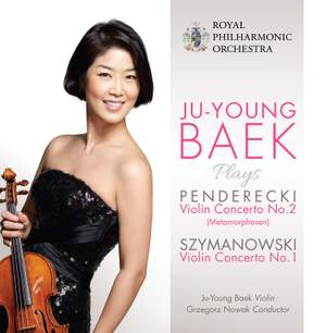 Ju-Young Baek plays Penderecki and Szymanowski