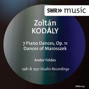 Kodály: 7 Piano Pieces & Dances of Marosszék