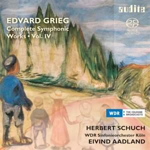 Grieg: Complete Symphonic Works Volume 4