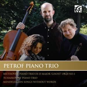 Petrof Piano Trio play Beethoven, Tchaikovsky & Mendelssohn Product Image
