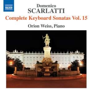 Scarlatti - Complete Keyboard Sonatas Volume 15 Product Image