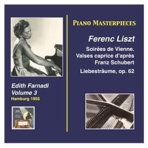Piano Masterpieces: Edith Farnadi, Vol. 3