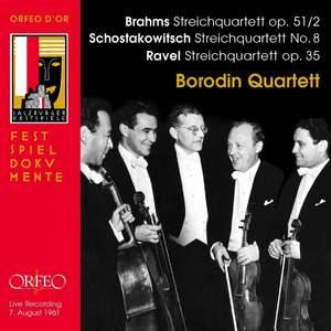 Borodin Quartet: Brahms, Shostakovich, Ravel