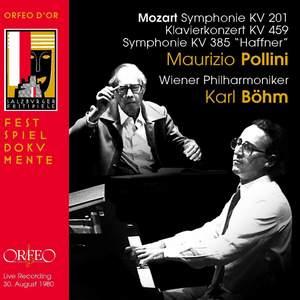 Mozart: Symphonies K201, K385 'Haffner & Piano Concerto K459