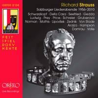 R. Strauss: Salzburg Lieder Evenings 1956-2010