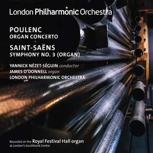 Yannick Nézet-Séguin conducts organ works by Poulenc & Saint-Saëns Product Image