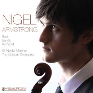 Nigel Armstrong plays Bach, Nigel Armstrong and Korngold Product Image