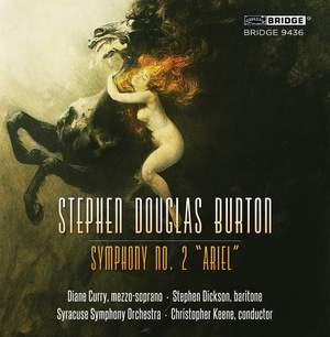 Burton, S D: Symphony No. 2 'Ariel' Product Image