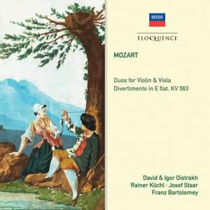 Mozart: Divertimento in E flat & Duos Nos. 1 & 2