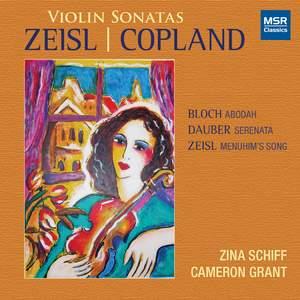 Violin Sonatas by Copland and Zeisl