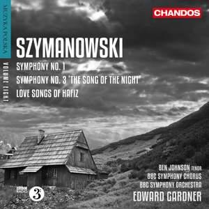 Szymanowski: Symphonies Nos. 1 & 3 Product Image