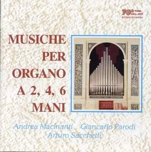 Musiche per organo a 2, 4, 6 mani Product Image
