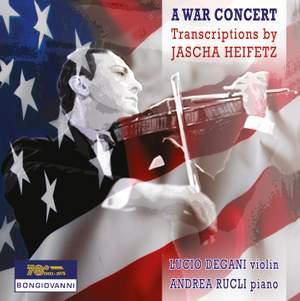 A War Concert: Transcriptions by Jascha Heifetz Product Image