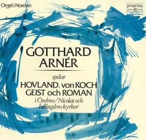 Gotthard Arnér spelar Hovland, von Koch, Geist & Roman
