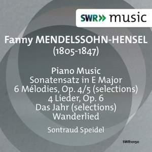 Fanny Mendelssohn: Piano Works