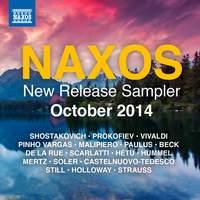 Naxos October 2014 New Release Sampler