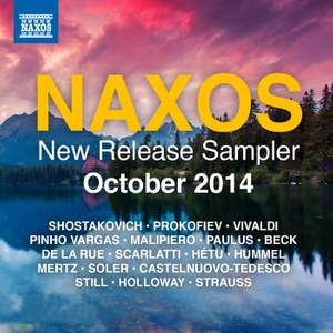Naxos October 2014 New Release Sampler Product Image