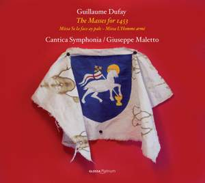 Guillaume Dufay: The Masses for 1453 Product Image