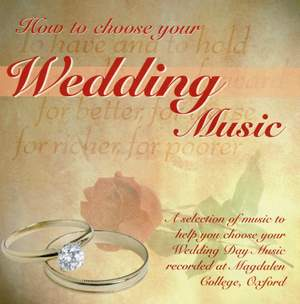 How to Choose Your Wedding Music