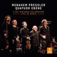 Menahem Pressler & Quatuor Ebène 90th Anniversary Concert