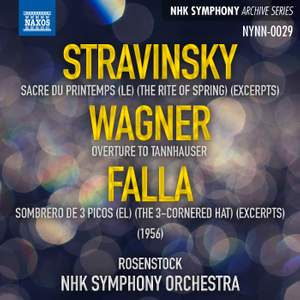 Stravinsky, Wagner & Falla: Orchestral Works