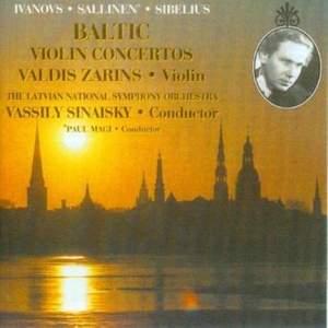 Baltic Violin Concertos