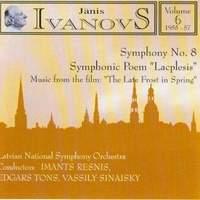 Janis Ivanovs: Orchestral Works Vol. 6