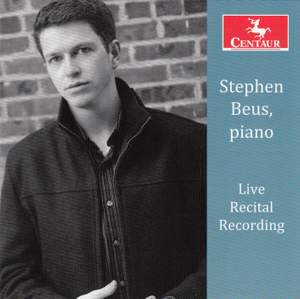 Stephen Beus Live Recital Recording
