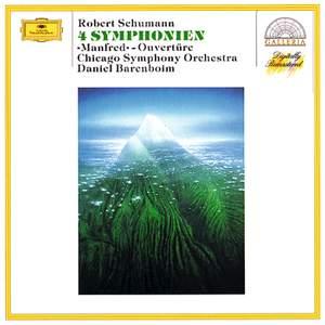 Schumann: 4 Symphonies & 'Manfred' Ouverture Product Image