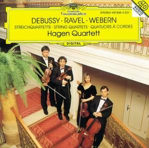 Debussy, Ravel & Webern: String Quartets